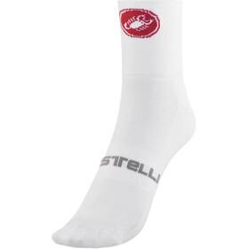 Castelli Quattro 9 Socks white